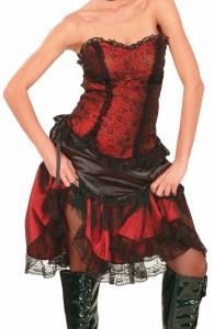 déguisement cabaret saloon