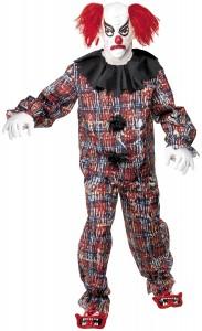 déguisement clown terrifiant