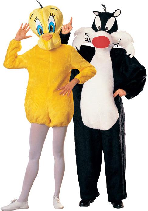d guisement couple titi et grosminet d guisement couple pas cher costume carnaval. Black Bedroom Furniture Sets. Home Design Ideas