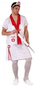 déguisement infirmière pour homme