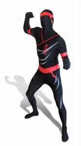 déguisement morphsuits ninja
