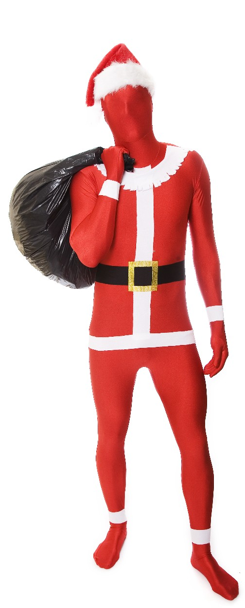 D guisement morphsuits p re no l seconde peau morphsuit costume p re no l pas cher - Costume pere noel pas cher ...