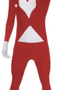 déguisement morphsuits serveur rouge