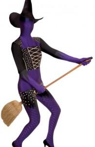 déguisement morphsuits sorcière halloween