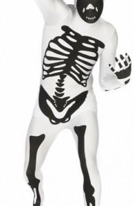 déguisement morphsuits squelette
