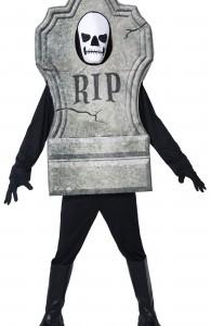 déguisement pierre tombale