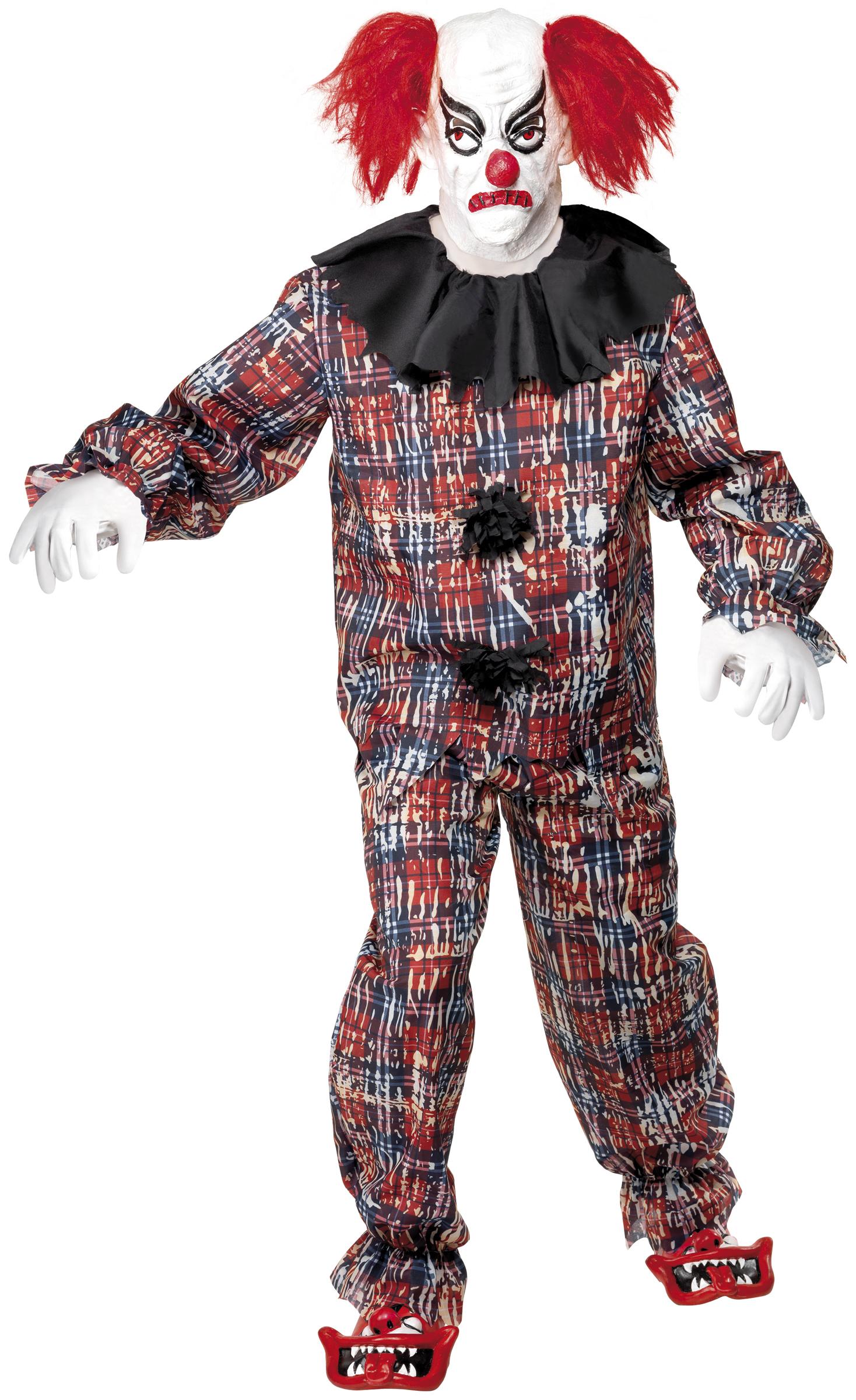 d guisement clown terrifiant costume clown effrayant homme d guisement halloween. Black Bedroom Furniture Sets. Home Design Ideas