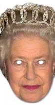 Masque Reine d'Angleterre