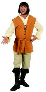 déguisement paysan médiéval