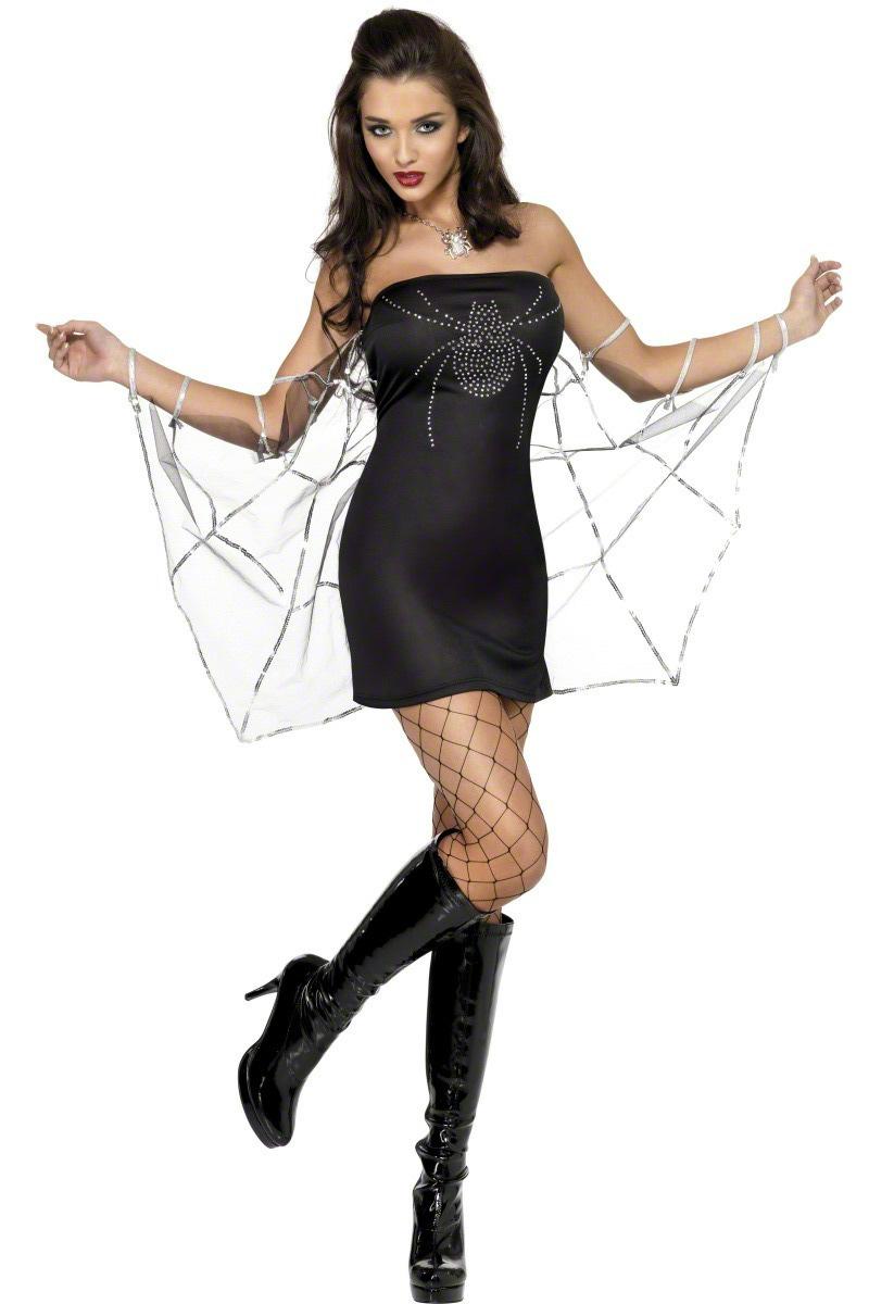 d guisement araign e femme costume araign e pas cher d guisement halloween sexy. Black Bedroom Furniture Sets. Home Design Ideas