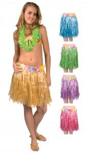 jupe hawaienne à fleurs