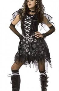 déguisement ange gothique