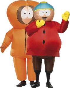 déguisement couple Kenny et Cartman South Park