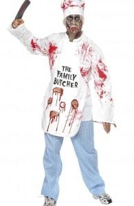déguisement cuisinier zombie