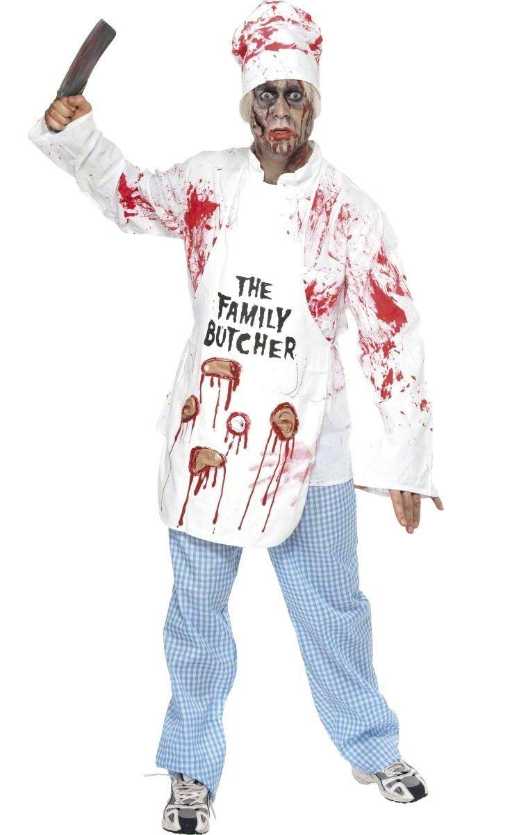 D guisement cuisinier zombie costume zombi homme pas for Cuisinier zombie