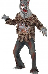 déguisement loup garou zombi