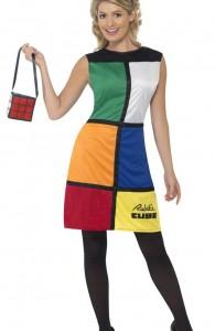 déguisement rubik's cube femme