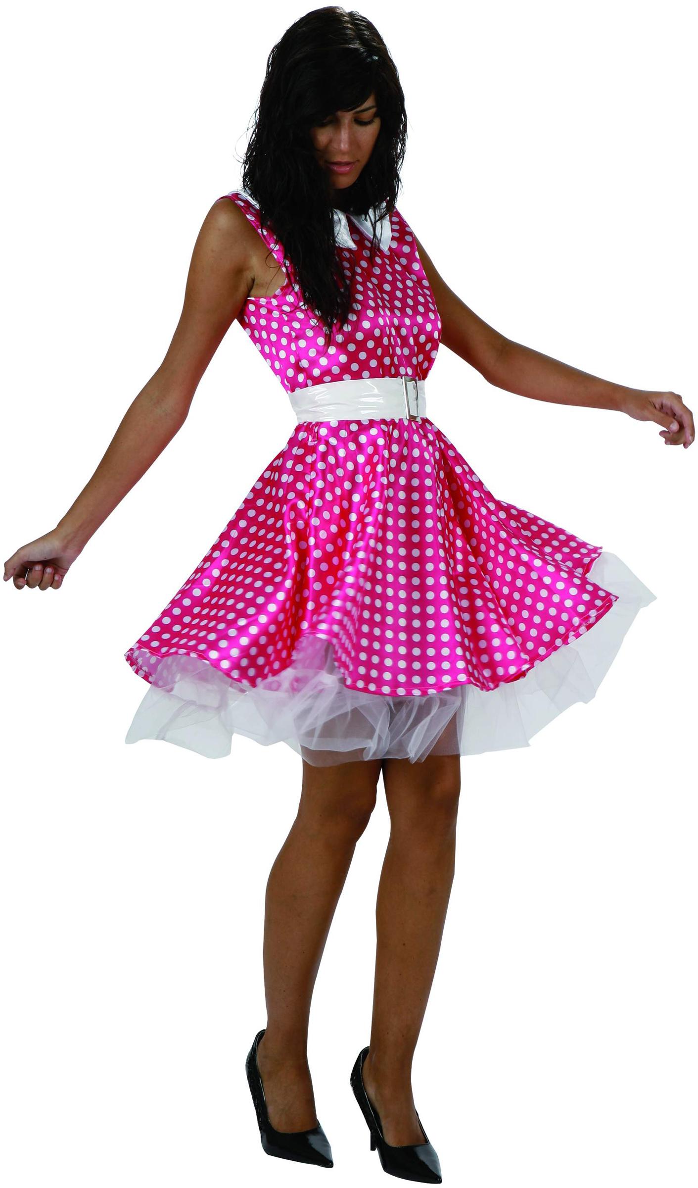 d guisement ann es 50 rose costume femme pas cher soir e fifties. Black Bedroom Furniture Sets. Home Design Ideas