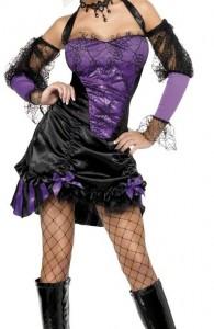 déguisement cabaret gothique