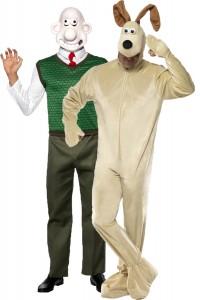 déguisement couple Wallace et Gromit