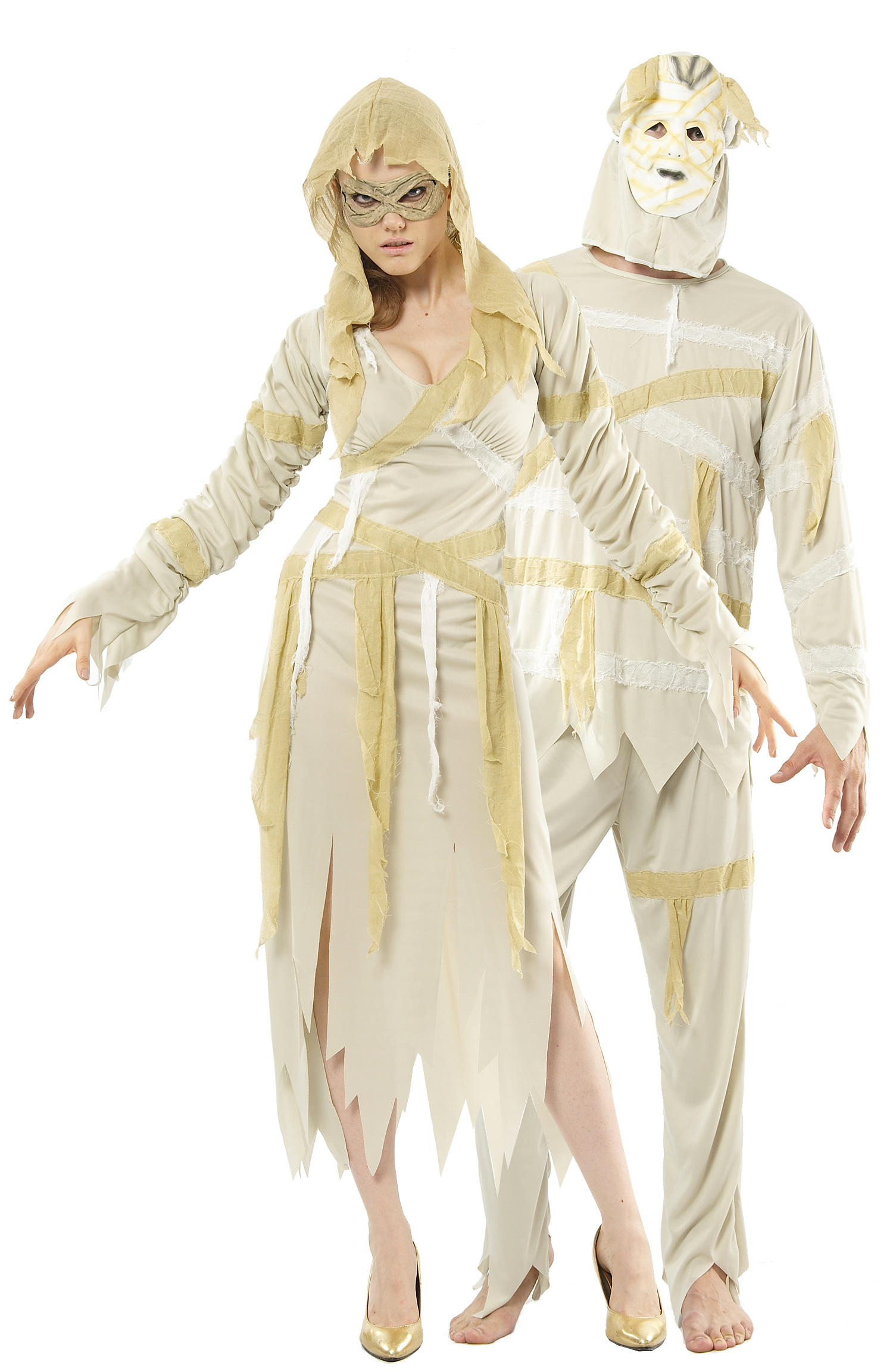 D guisement couple momies costume adulte pas cher d guisement halloween - Deguisement couple halloween ...