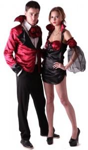déguisement couple vampire