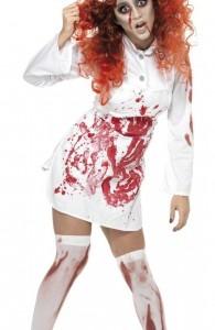 déguisement cuisinière zombie