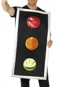 déguisement feu tricolore