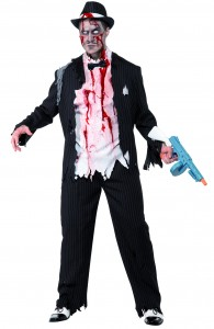 déguisement gangster charleston zombie
