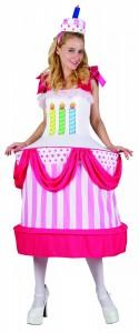 déguisement gateau d'anniversaire femme