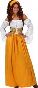 déguisement médiéval femme