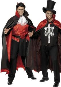 déguisement réversible vampire et diable