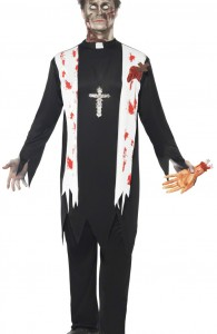 déguisement religieux zombie