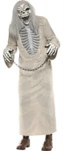 déguisement squelette prisonnier