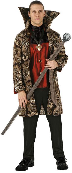 d guisement vampire pour homme costume baroque pas cher soir e halloween. Black Bedroom Furniture Sets. Home Design Ideas