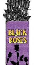 Roses noires Halloween