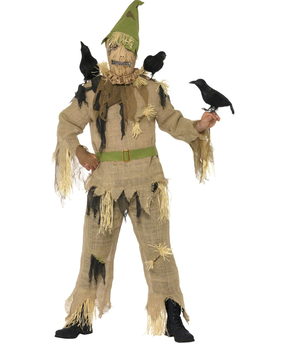 d guisement pouvantail pour adulte costume horreur soir e halloween. Black Bedroom Furniture Sets. Home Design Ideas