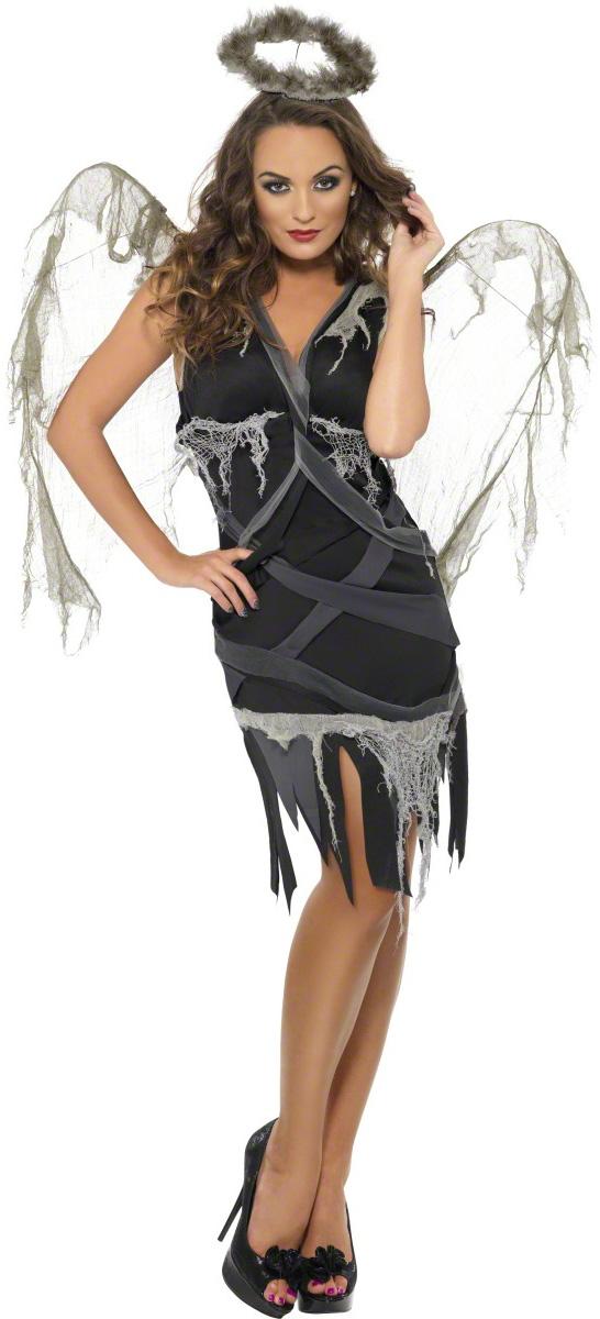 d guisement ange d chu femme costume ange de la mort. Black Bedroom Furniture Sets. Home Design Ideas