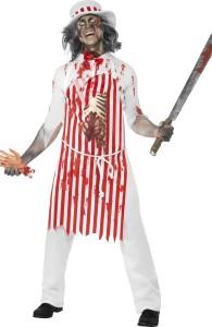 déguisement boucher zombie