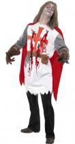 Déguisement chevalier zombie