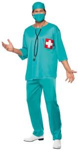 déguisement chirurgien homme