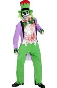 déguisement clown maléfique homme