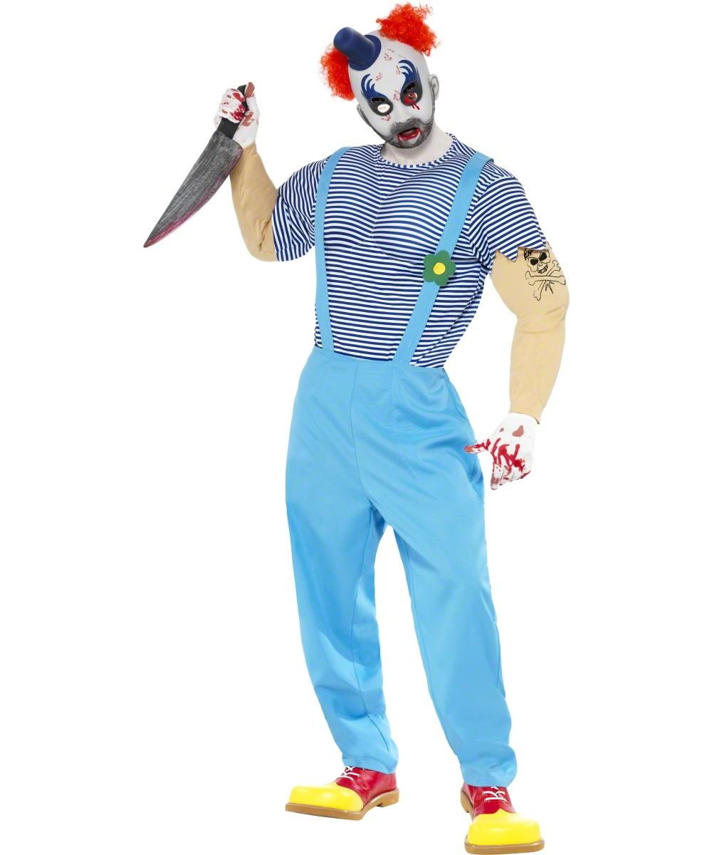 d guisement clown tueur costume clown mal fique f te d. Black Bedroom Furniture Sets. Home Design Ideas