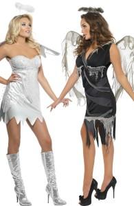 déguisement couple ange et ange déchu