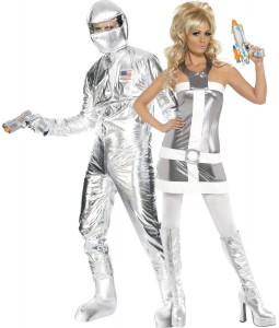 déguisement couple de l'espace