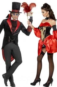 déguisement couple vampire baroque