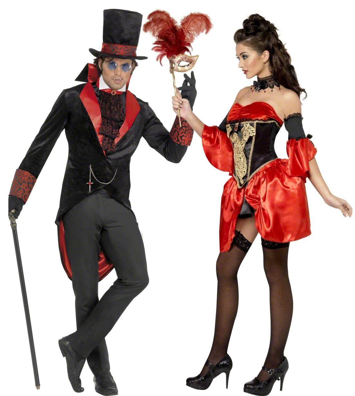 d guisement couple vampire baroque costume couple gothique pas cher soir e halloween. Black Bedroom Furniture Sets. Home Design Ideas