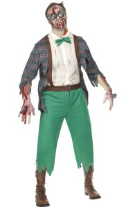 déguisement geek zombie homme