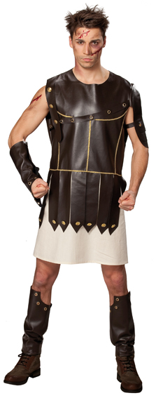 Scoopachat - Dguisement romain costume gladiateur LUXE