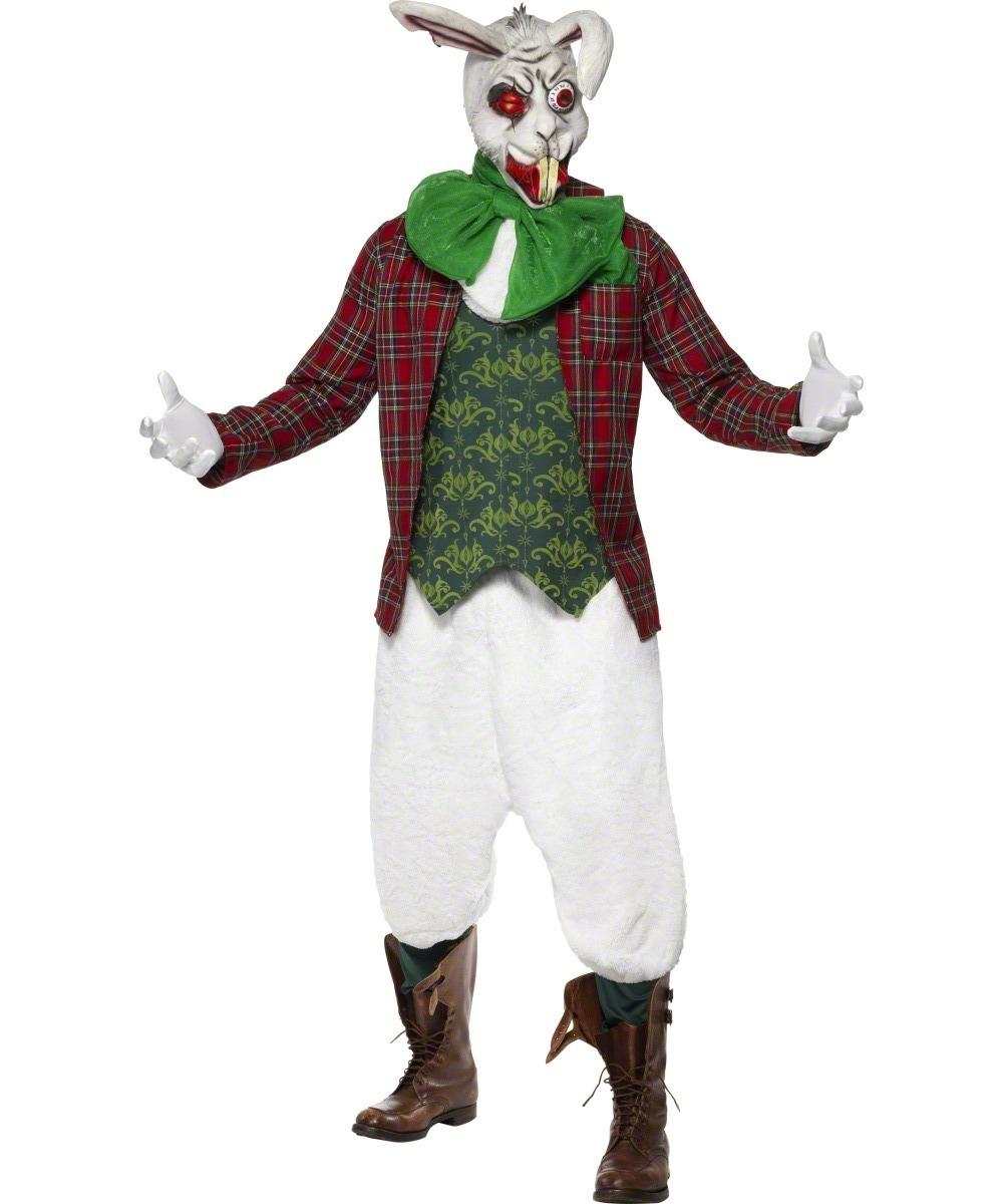 d guisement lapin blanc monstre costume lapin alice au pays des merveilles soir e halloween. Black Bedroom Furniture Sets. Home Design Ideas